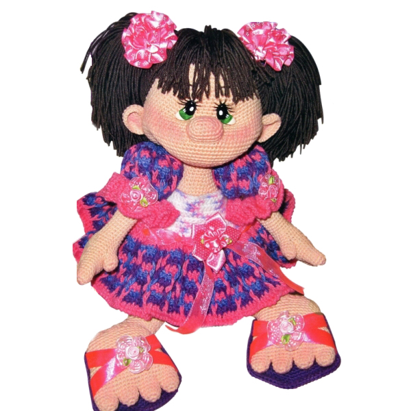 амигуруми кукла Ириска