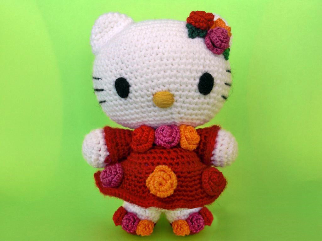 амигуруми Hello Kitty