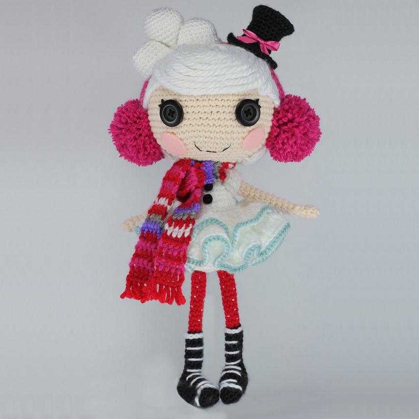 амигуруми Кукла лалалупси