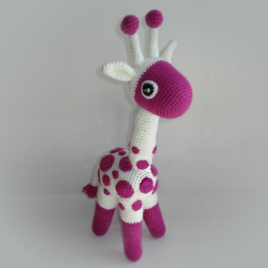 Жирафик амигуруми. Схемы и описания для вязания игрушек ...