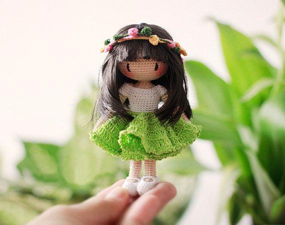Схема амигуруми: Кукла