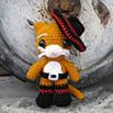 Схема для вязания крючком: Кот в Сапогах
